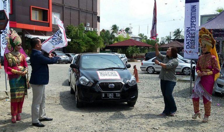 Masuk Gelombang Ke-4, 5 Datsun GO+ Panca Siap Uji Ketangguhan di Pulau Sumatera
