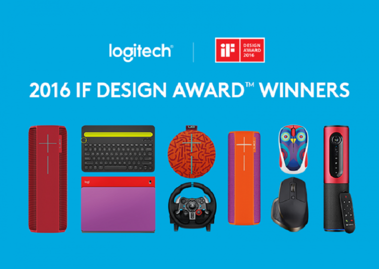 Logitech Raih 8 Penghargaan iF Design Awards 2016