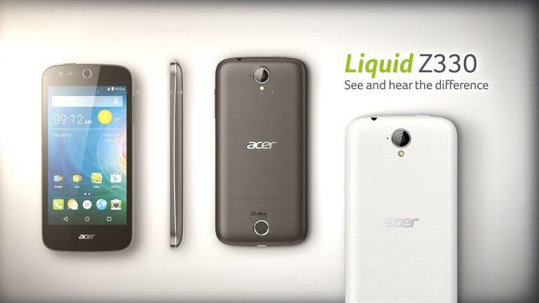 Trend Smartphone 4G, Acer Pede Pasarkan Liquid Z330 di Indonesia