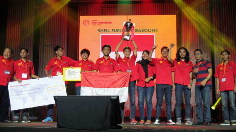 Tim Indonesia Sabet Penghargaan di Shell Eco-Marathon Asia 2016