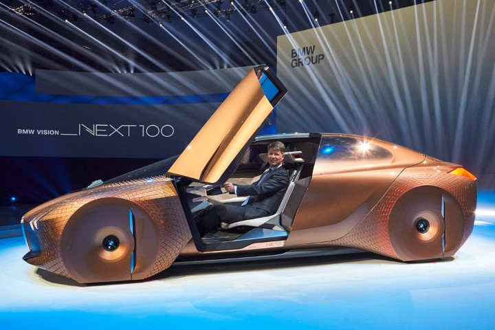 Untuk Masa Depan, BMW Hadirkan BMW Vision Next 100