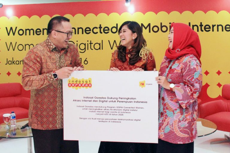 Indosat Ooredoo Gelar Talkshow dan Masterclass Bertajuk 'Women Connected to Mobile Internet: Women in Digital Era'