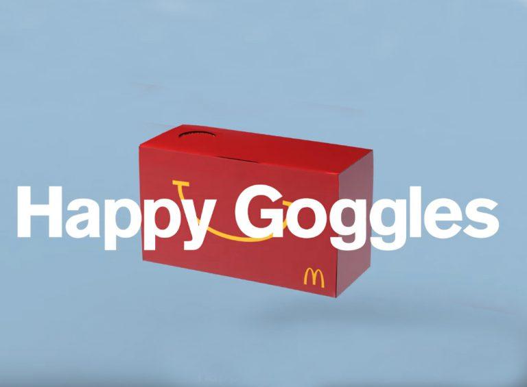 Kotak Happy Meal McDonalds ini Bisa Jadi VR Cardboard