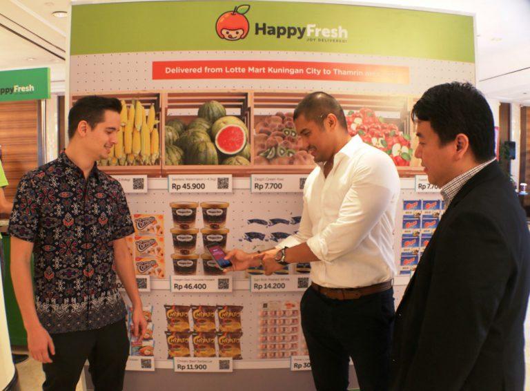 HappyFresh, Orami, dan Dimo Garap Konsep QR Store untuk Sistem Belanja yang Lebih Mudah
