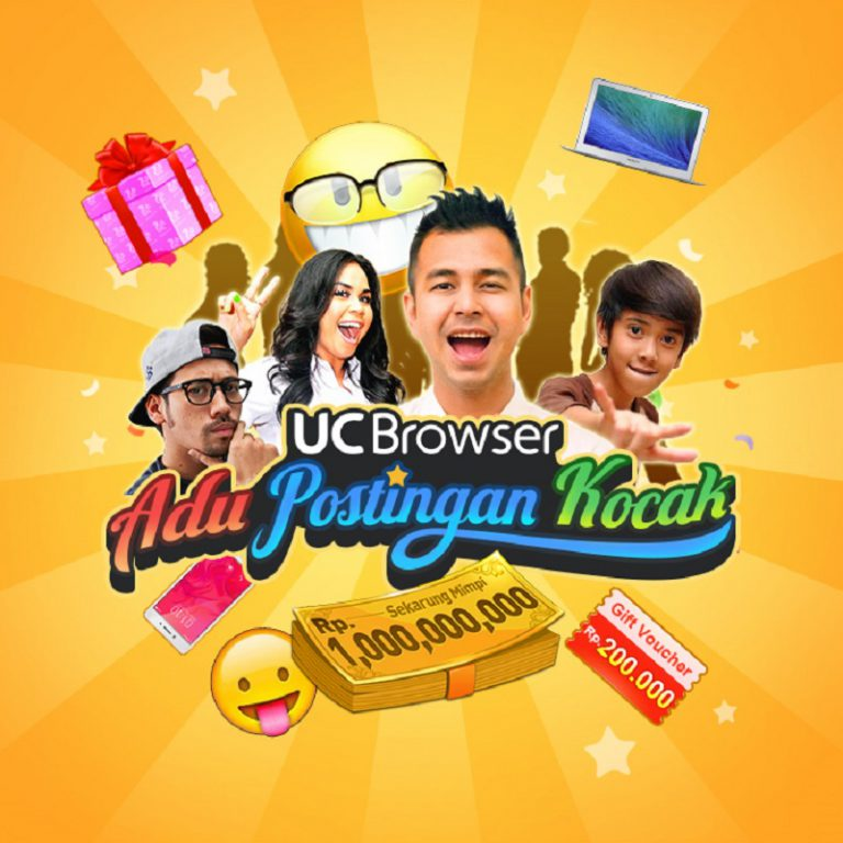 Posting Hal-hal Lucu ke Internet, UCBrowser Siapkan Hadiah Rp 1 Miliar