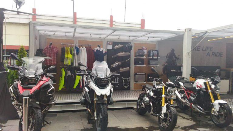 BMW Motorrad Pop-up Container Sudah Singgah di Indonesia
