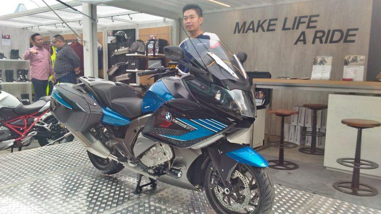Hanya Satu Unit, BMW Motorrad Langsung Pamerkan K 1600 GT Sport