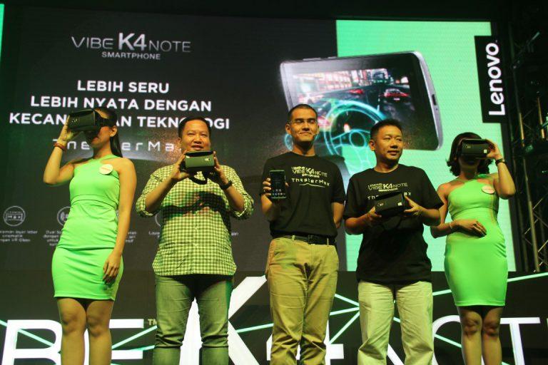 Lenovo Rilis Resmi VIBE K4 Note dan ANT VR dengan Harga Terjangkau
