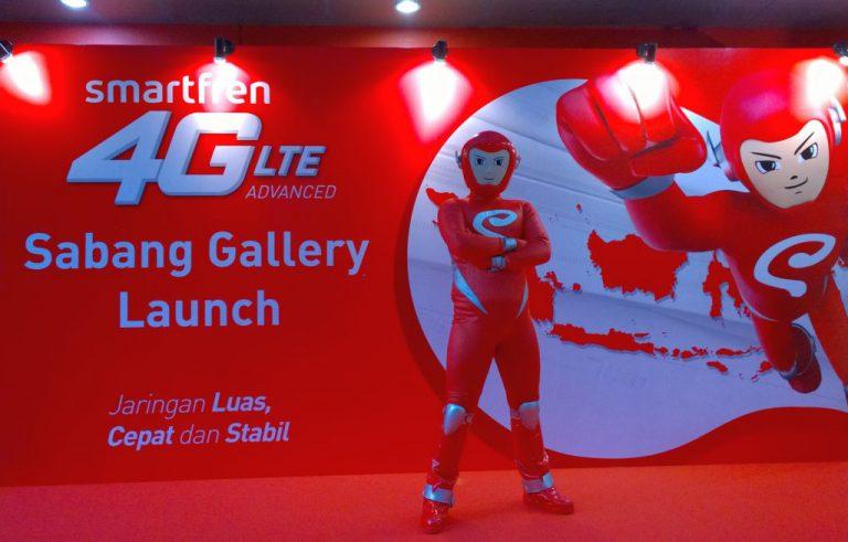 Layanan Smartfren 4G LTE Advanced Kini Bisa Dinikmati Masyarakat Pontianak