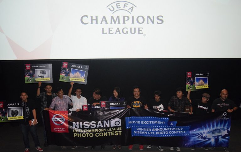 Nissan Umumkan Pemenang Nissan UEFA Champions League (UCL) Photo Contest