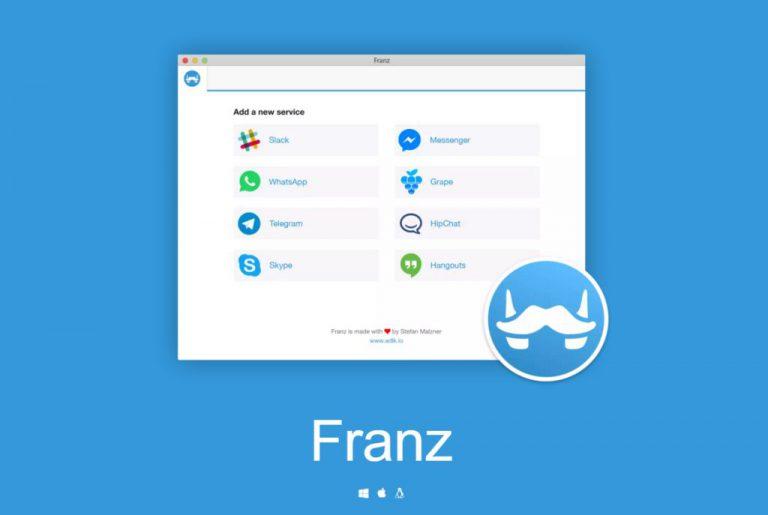 Ngobrol dengan Multi Akun WhatsApp, Telegram, atau Messenger dalam Satu Aplikasi? Gunakan Franz