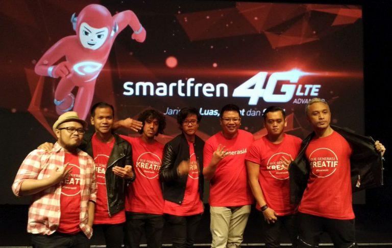 Kampanye #Generasi4G di Empat Kota, Smartfren Berharap Dorong Industri Kreatif