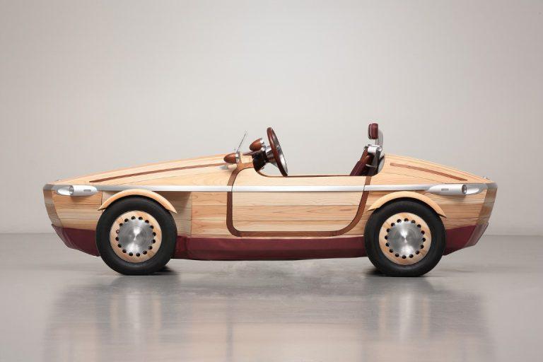 Toyota Bawa Mobi Kayu di Milan Design Week