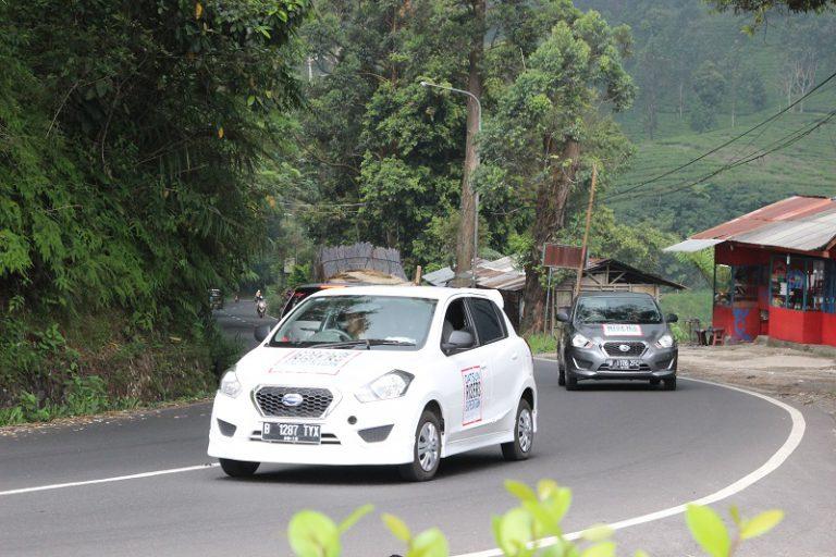 Datsun Tuntaskan Tantangan DRE Keliling Nusantara