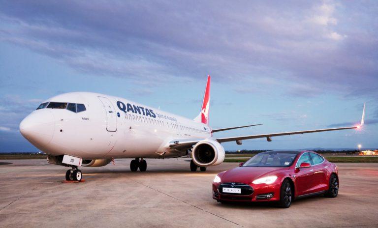 Qantas Versus Tesla, Mana yang Tercepat?