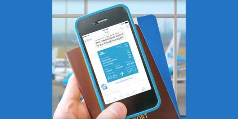 KLM Manfaatkan Facebook Messenger untuk proses Check-In Hingga Chit-chat Antar Penumpang