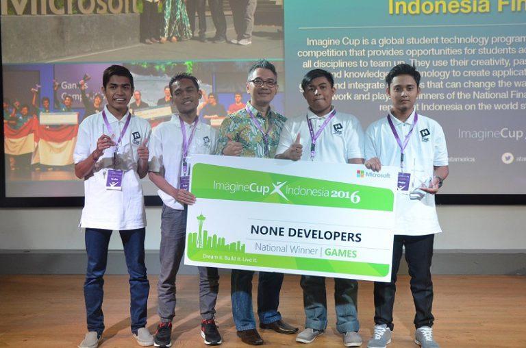 Microsoft Umumkan Tiga Pemenang Imagine Cup 2016 Tingkat Nasional