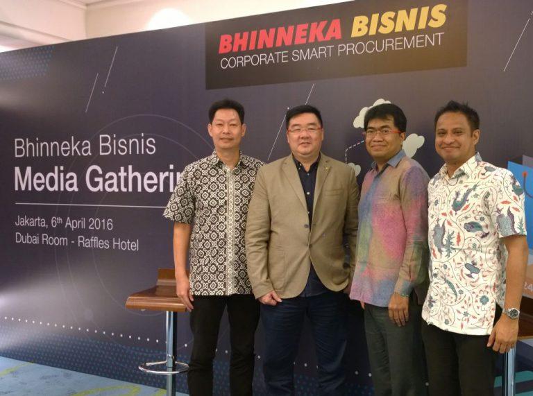 Ciptakan Sistem Procurement Korporasi yang Lengkap, Aman, dan Cepat, Bhinneka Hadirkan Bhinneka Bisnis