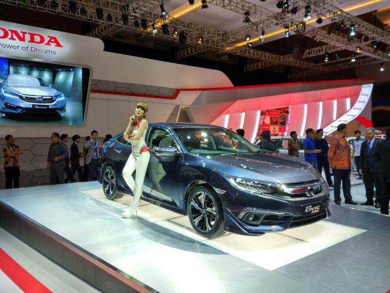 Honda di IIMS 2016, Hadirkan All New Honda Civic dengan Desain Revolusioner