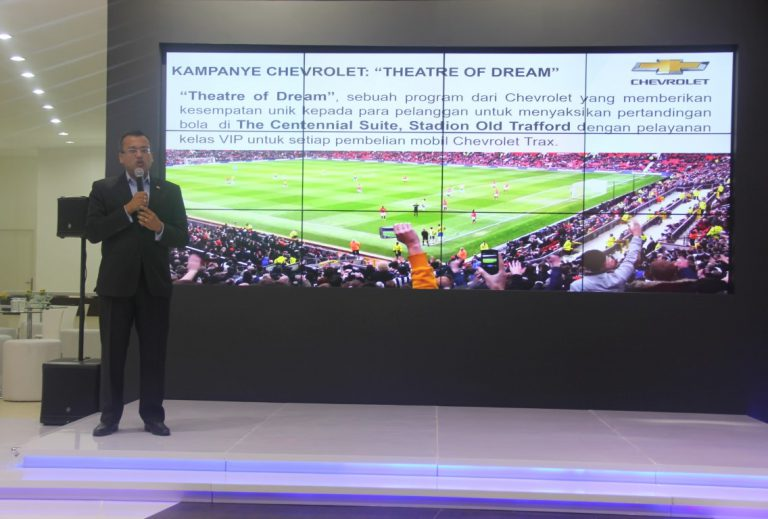 Chevrolet Beri Kesempatan Konsumennya Saksikan Manchester United di Old Trafford