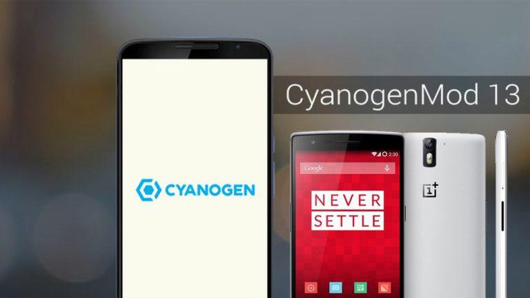 Dahului OxygenOS, Cyanogen OS 13 Berbasis Marshmallow Kini Tersedia untuk OnePlus One