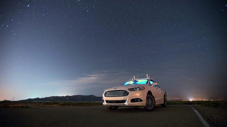 Ford Gunakan Lidar Khusus untuk Mobil Otonom di Malam Hari