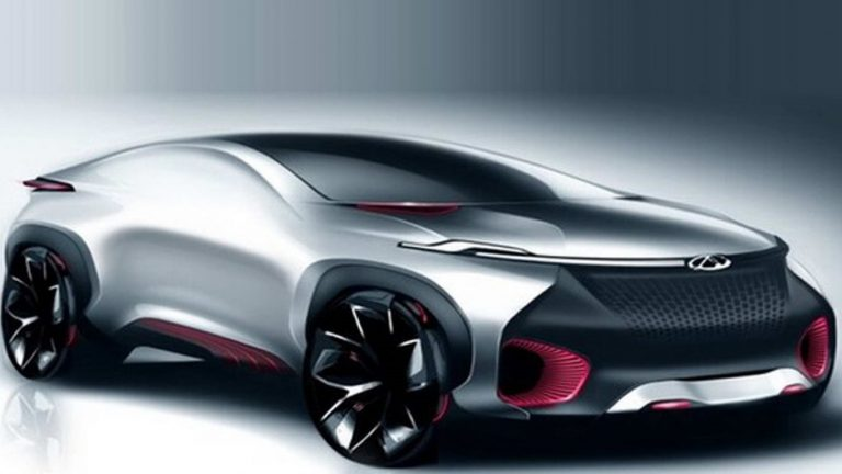 Beginilah Tampang Mobil Konsep Chery Bergaya Crossover Coupe