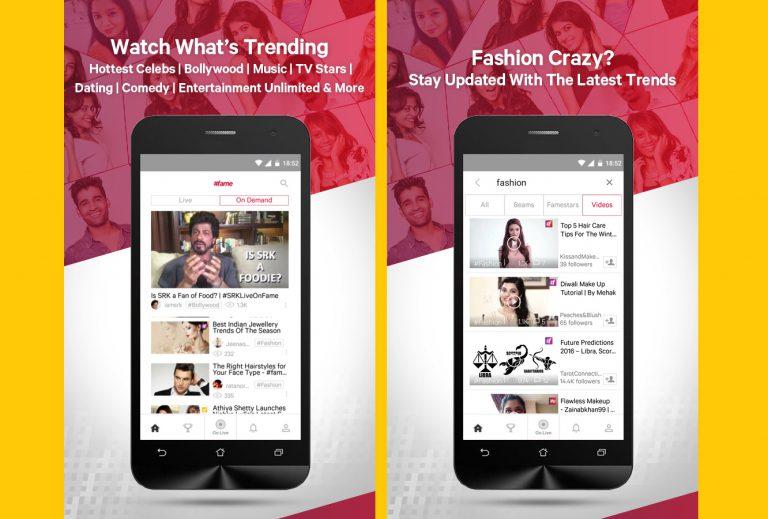 #fame, Layanan Live Video Social Platform Akhirnya Hadir di Indonesia