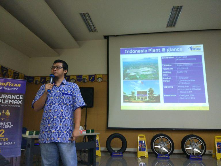 Goodyear Indonesia Produksi 3,8 Juta Ban Setiap Tahun