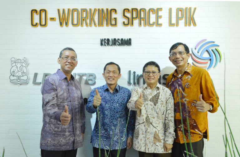 Lintasarta dan ITB Bangun Co-Working Space