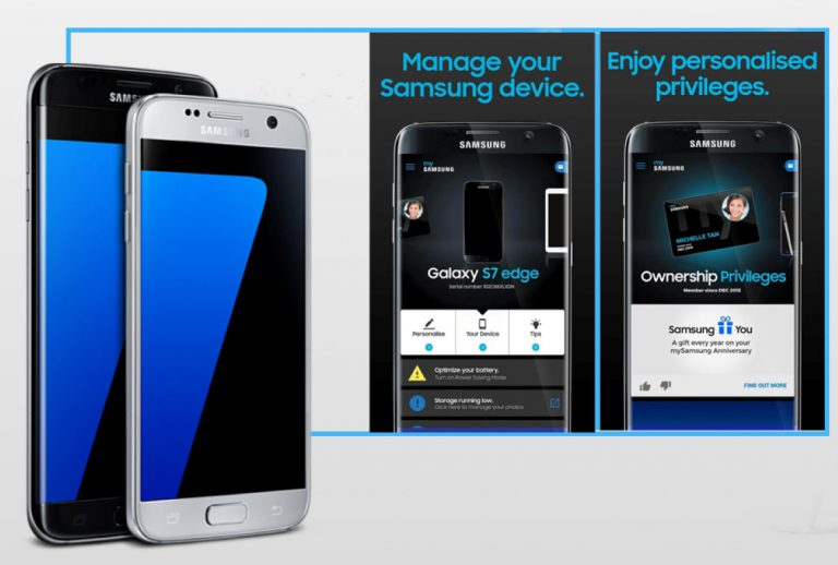 Samsung Hadirkan Aplikasi MySamsung, Prioritaskan Pengguna S7 dan S7 Edge