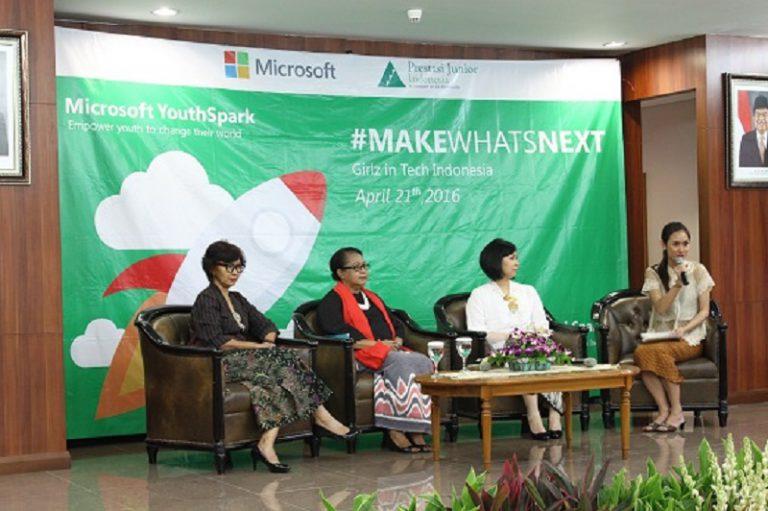 Lewat Kampanye Inspiratif #MakeWhatsNext, Microsoft Ajak Perempuan Indonesia Berani Berinovasi
