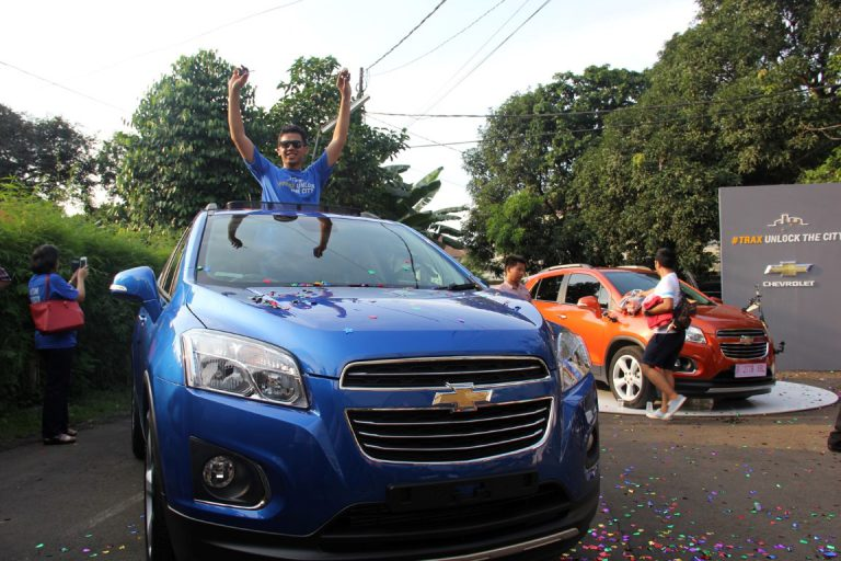 Trax Unlock The City Selesai, Pemenang Mendapatkan 1 Unit Chevrolet Trax