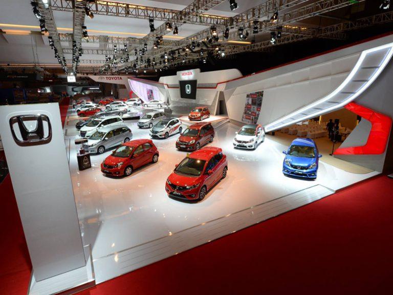 Honda Catat Penjualan Hingga 3.550 Unit Kendaraan Roda Empat di IIMS 2016