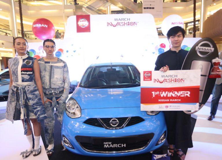 Staphanus Sylvester Raih Juara 1 di Nissan MarchInVashion 2016