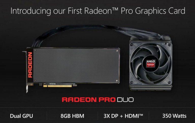 AMD Radeon Pro Duo: Graphics Card yang Menyasar Para Developer dan Content Creator