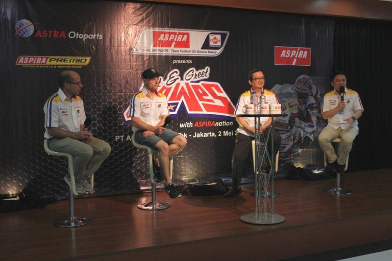 Menang di GP Spanyol, Aspira Gelar Meet & Greet dengan Sam Lowes
