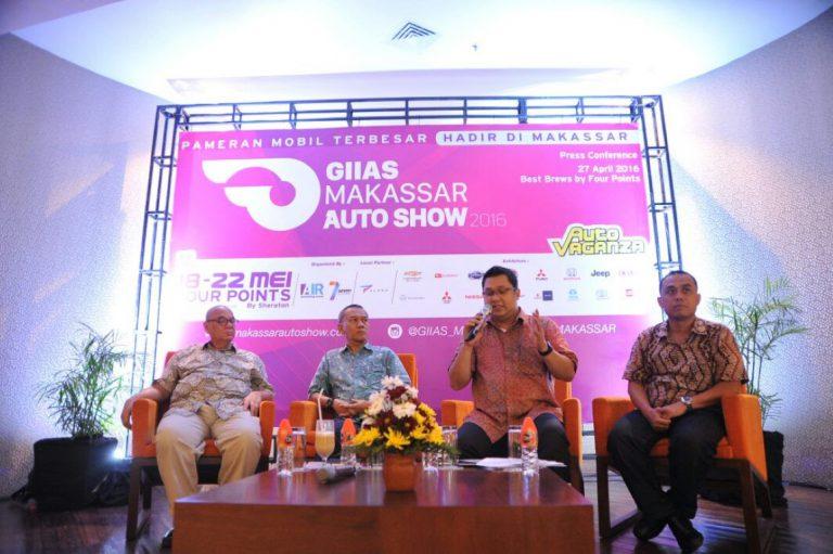 GIIAS Makassar Auto Show 2016 Tampilkan Konsep Baru dan Brand-Brand Unggulan