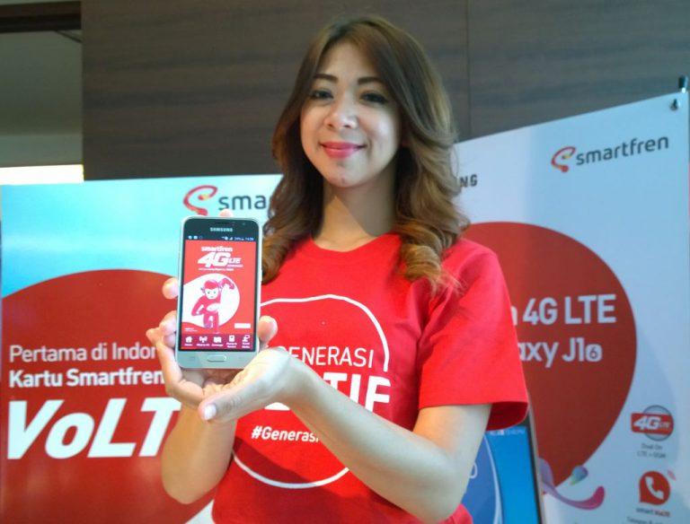 Paket Perdana VoLTE dan Bundling Smartphone Samsung J1 Siap Dorong  Pertumbuhan Pelanggan Smartfren