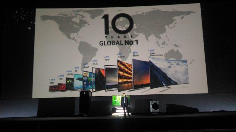 Implementasi Quantum Dot, Samsung Perkenalkan Lini Terbaru SUHD TV