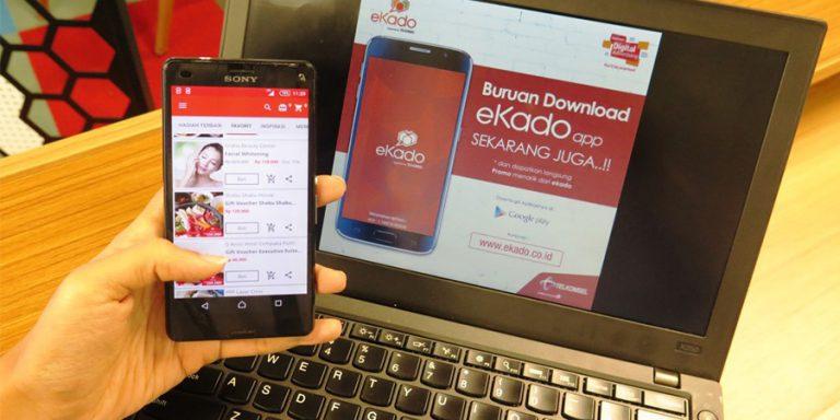 eKado Racikan Telkomsel Kini Hadir dalam Bentuk Aplikasi Mobile