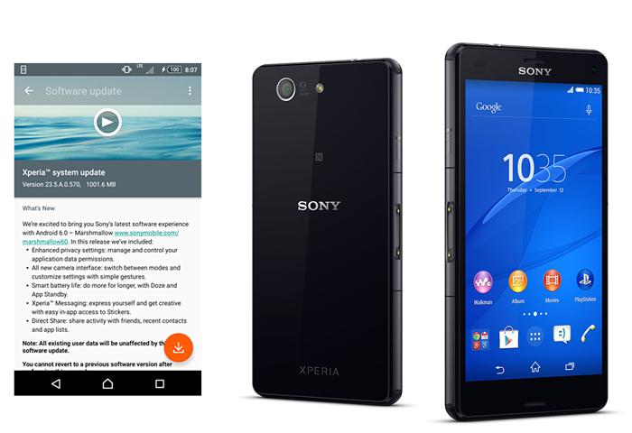 Sony Xperia Z2, Xperia Z3, dan Xperia Z3 Compact Sudah Dapat Update Marshmallow