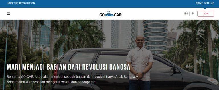 Go-Jek Sudah Buka Lowongan untuk Supir Go-Car
