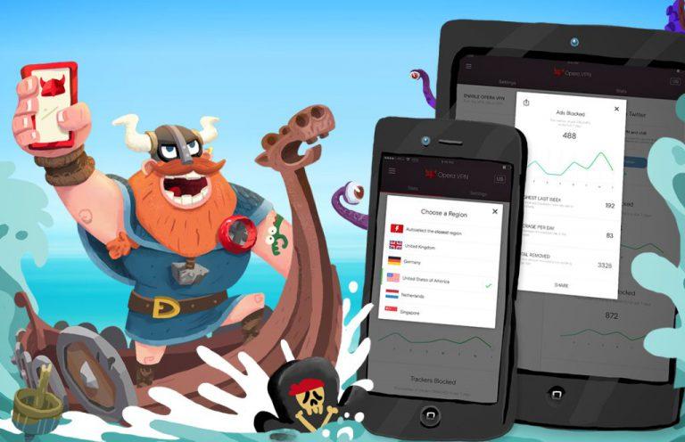 Internet-an di iPhone dan iPad Kini Lebih Bebas Blokir Berkat Aplikasi Gratis Opera VPN