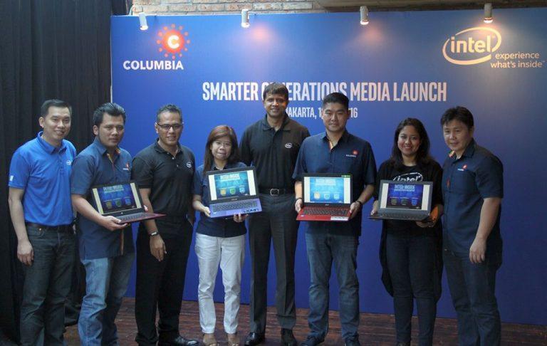 Gairahkan Pasar PC dan Laptop Tanah Air, Intel Gandeng Toko Ritel Columbia