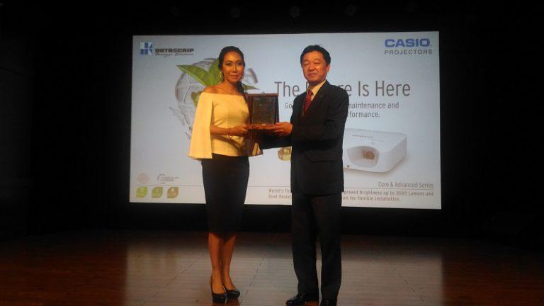 Gandeng PT Datascrip, CASIO Perkenalkan Proyektor Hemat Energi