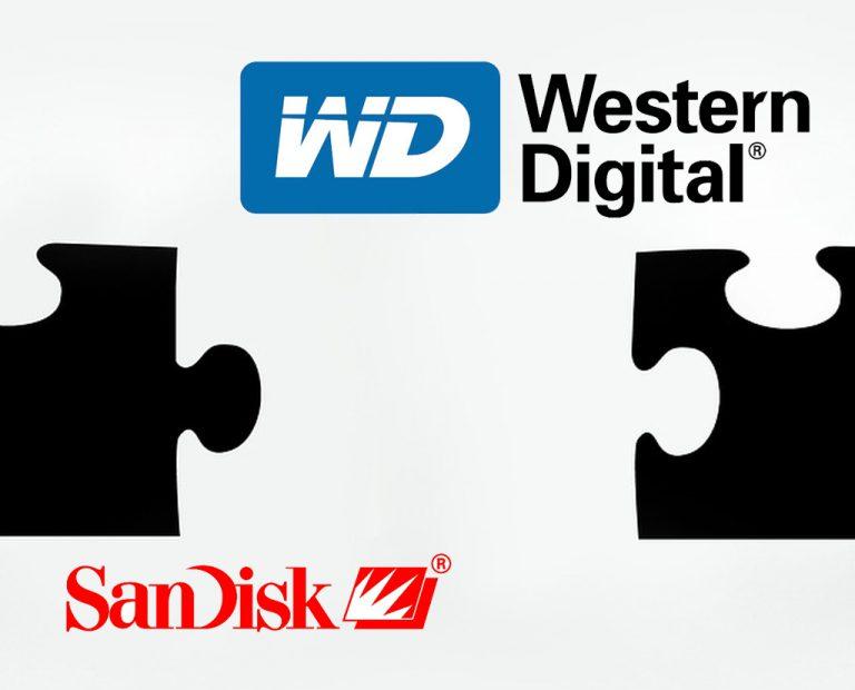 WD Tuntaskan Proses Akuisisi SanDisk