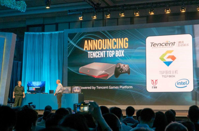 Kolaborasi Tencent, Intel, dan Haier Hadirkan Game Console Blade TGP BOX