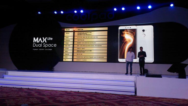 Coolpad Lebih Dulu Pasarkan Max Lite untuk Konsumennya di Indonesia