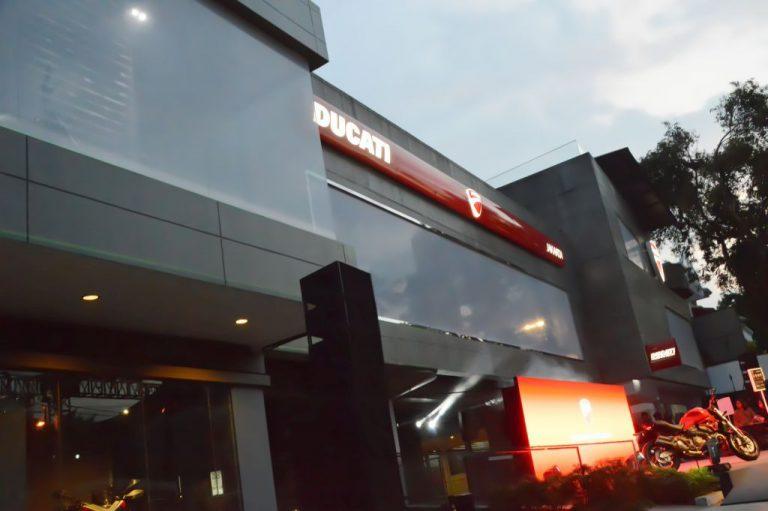 Toko Flagship Ducati Terbesar Sejagat Ada di Jakarta